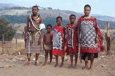 And example of a family that would live in the area ( swati people)