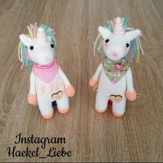 Ich durfte für zwei Liebe Kunden diese zwei süßen Einhörner häkeln . Nun machen sie sich bald auf die Reise  Bye Bye ihr zwei hübschen  #unicorn #candycolors #häkeln #haekel_liebe #pinteres #followme #crochetmood #crochet #crochetaddict #crocheting #häkelnmachtglücklich #babygift #gift #baby #häkelnisttoll #hakeln #amigurumiart #amigurumi #freitag #11052016 #germany #deutschland #rastatt #selbstgemacht #handmade #crochetlove #einhornliebe #instagram #instadaily #einhörner by haekel_liebe