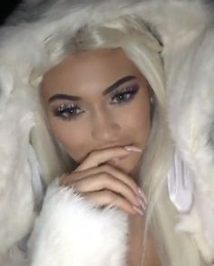 Pin for Later: ICYMI: The 17 Best Celebrity Halloween Beauty Costumes of 2015 Kylie Jenner