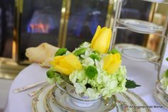 An Accomplished Woman: Sunday Dinner: Tulips by the Fire