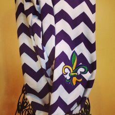 Hey, I found this really awesome Etsy listing at https://www.etsy.com/listing/202705068/adult-chevron-mardi-gras-infinity-scarf