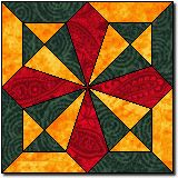 No Place Like Home (free quilt block pattern)