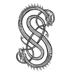 Viking Norse Knotwork Loki Symbol