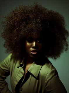 Noir Photographer Tony Armstrong | afro | black | beauty | olive | green | brunette | www.republicofyou.com.au