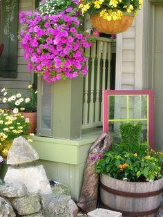 Garden Junk Ideas   More Garden Junk/Art & Accoutrement Ideas