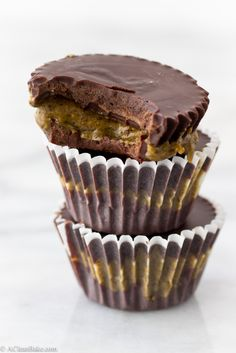 Protein-packed Peanut Butter Cups (Gluten-free, vegan and paleo-adaptable)