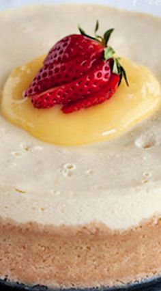 Meyer Lemon Cheesecake (Instant Pot)
