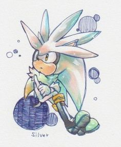 a shout out to Silver the Hedgehog
