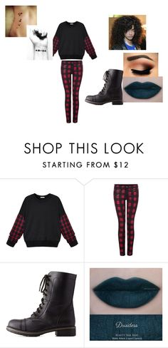 """""""Promise  Rova (glee)"""" by cutegurl112 ❤ liked on Polyvore featuring Dex and Charlotte Russe"""