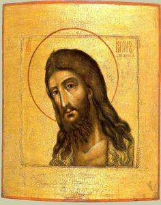 St. John the Baptist, Russian icon