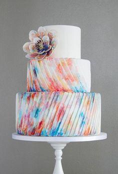 Свадебные торты: 10 самых интересных трендов | Свадебная невеста