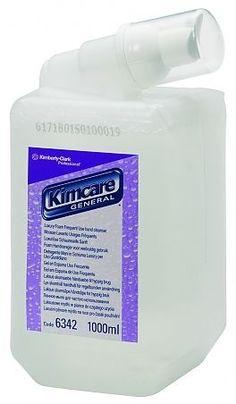 Sapun spuma Kimberly-Clark indicat pentru maini. Rezerva suficienta pentru 3000 dozari.