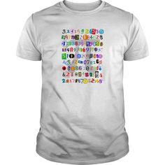 Show your The Many Digits of Pi shirt - Wear it Proud, Wear it Loud!