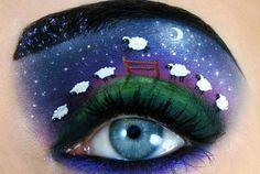 Israelense cria maquiagens artísticas impressionantes   Estilo
