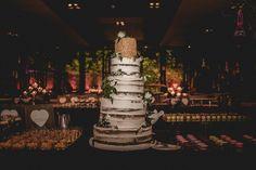 WEDDING NAKED CAKE