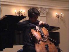P. I. Tchaikovsky: Pezzo capriccioso. op. 62 Luka Šulić, cello Srebrenka Poljak, piano live in concert, May 19, 2006 in Zagreb