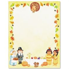 First Thanksgiving Letter Paper Thanksgiving Letter, First Thanksgiving, Elementary School Library, Elementary Schools, Letterhead Paper, Computer Paper, Fall, Autumn, Thankful