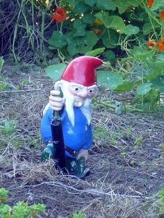 Gnomes in Army Man poses!  Amazing!  Want! Mortar Gnome 3 by thorssoli, via Flickr