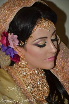 Support my mum's hard work: www.facebook.com/MakeupArt.Samina This was a photoshoot for heavy asian bridal makeup. Tags: #asian #model #photoshoot #arabic #art #makeup #make #up #glitter #eastern #pretty #artist #beauty #jewellery #walima #floral #exotic #beautiful