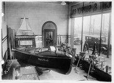 Classic Chris Craft wood boats