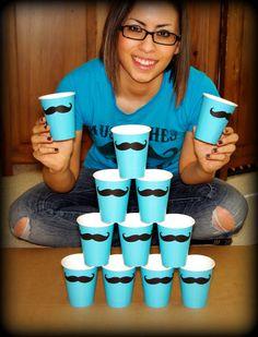 12 snor papier partij Cups-snor Cups-The door ImSeriouslyJoking