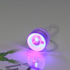 Light up the room with this LED strobe ring from GloFX!