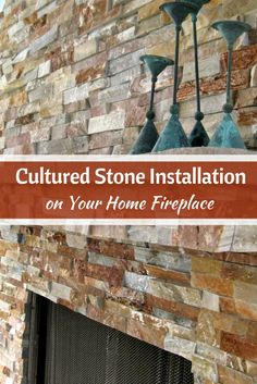 Read on to find out how to design a fireplace with cultured stone. #mortonstones #fireplace #rustic #modernhome #decor #interiordesign #interior #homeideas #culturedstone  #homeimprovement #culturedstone installation