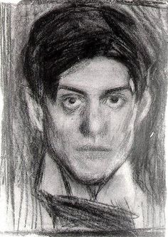 Self-Portrait - Pablo Picasso - Realism, 1900