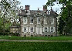 Cliveden Mansion, Germantown, Philadelphia