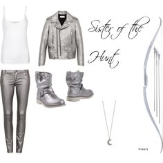 """Hunter of Artemis"" by michaelagoodman on Polyvore"