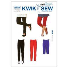 Kwik Sew Pattern K3636 (XS-S-M-L-XL)