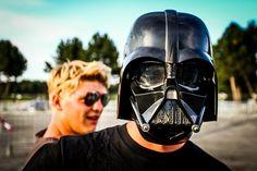 Darth Vader @ Urban Art Forms 2012 © Patrick Wally Urbane Kunst, Postmodernism, Electronic Music, Urban Art, Art Forms, Darth Vader, People, Thunderstorms, City Art