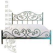 Кованая кровать Лазурь Барокко – купить или заказать в интернет-магазине на Ярмарке Мастеров | Кованая кровать – это царская роскошь. Кованая…