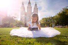 LDS, LDS Baptism Ideas, LDS baptism photography, Baptism, Children Photography, Children Poses, Utah photography, little girl photography ideas, little girl photography, Kelli Packer Photography, SLC Photography, Memory Grove
