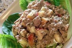 Savory Sweet Apple Walnut Tuna Salad | Dr. Nina Cherie Franklin