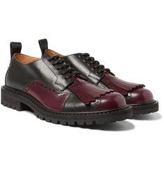 Dries Van Noten - Kiltie-Detailed Leather Brogues