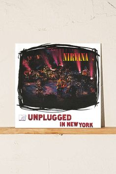 Slide View: 1: Nirvana - MTV Unplugged In New York LP