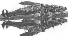 Italian fighters Fiat CR.32 l