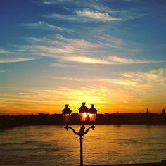 By soniajadeone: #bordeaux #gironde #landscape #sunset #sun #sportday #perfectday #love #sky #clouds #ciel #wonderful #landscape #contratahotel
