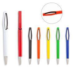 Bolígrafo publicitario económico, ENZO,  Bogotá. Bolígrafo Plástico. Tipo de Producto: IMPORTADO Medidas: 14.5 cm. Área de Marca: 2.5 cm. Técnica de Marca: Tampografía. Colores Disponibles: Amarillo, Azul, Blanco, Naranja, Negro, Rojo y Verde.