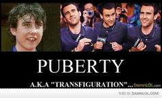 funny. he has come a long way since the first harry potter.