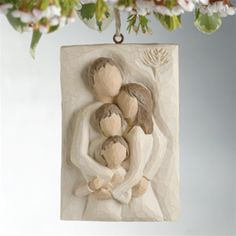 Willow Tree Family Plaque Ornament