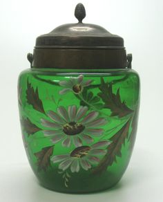VICTORIAN BISCUIT JAR   I have this, maybe I should sell?