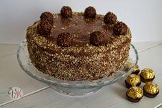Meine Ferrero Rocher Torte