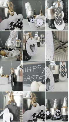 DIY Easter baskets ...
