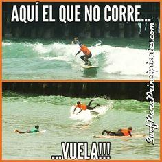 La de hoy en Instagram: Aquí el que no corre vuela! :) #surf #Lima #Peru #learntosurf #surfinglessons #EndlessSummer #Miraflores #Makaha #beachlife #surfisfun #surfwithfriends - http://ift.tt/1K8gmug