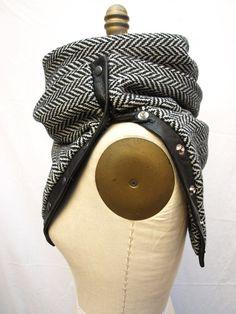 Reserved for HenriettaDevine   Herringbone Chunky wool circular infinity scarf