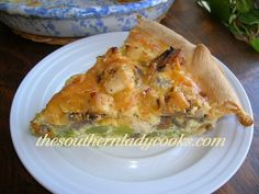 CHICKEN AND BROCCOLI QUICHE OR PIE  Take oven off convection       Cook for 45 minutes.   2 checks