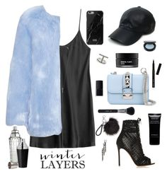 """Cocktail Hour"" by barngirl ❤ liked on Polyvore featuring La Perla, Gianvito Rossi, Vianel, Valentino, Bobbi Brown Cosmetics, NARS Cosmetics, Koh Gen Do, Givenchy, Sigma Beauty and Eva Fehren"