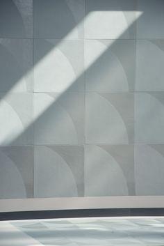 Glazed stoneware wall/floor tiles NUMI MOON by MUTINA design Konstantin Grcic #Tile